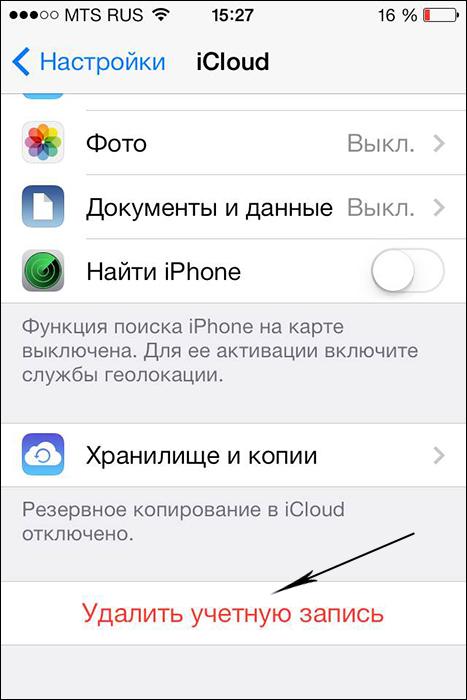 Apple kimliğini iPhonedan nasıl çözebilirim: ipuçları, öneriler, talimatlar 34