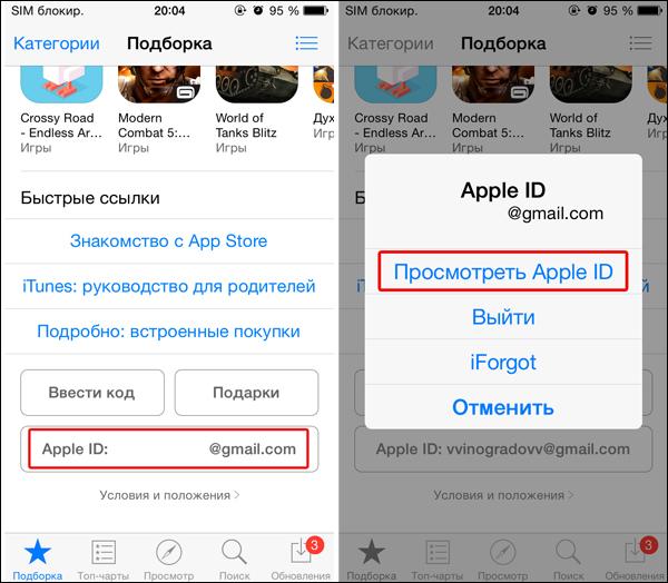Apple kimliğini iPhonedan nasıl çözebilirim: ipuçları, öneriler, talimatlar 3
