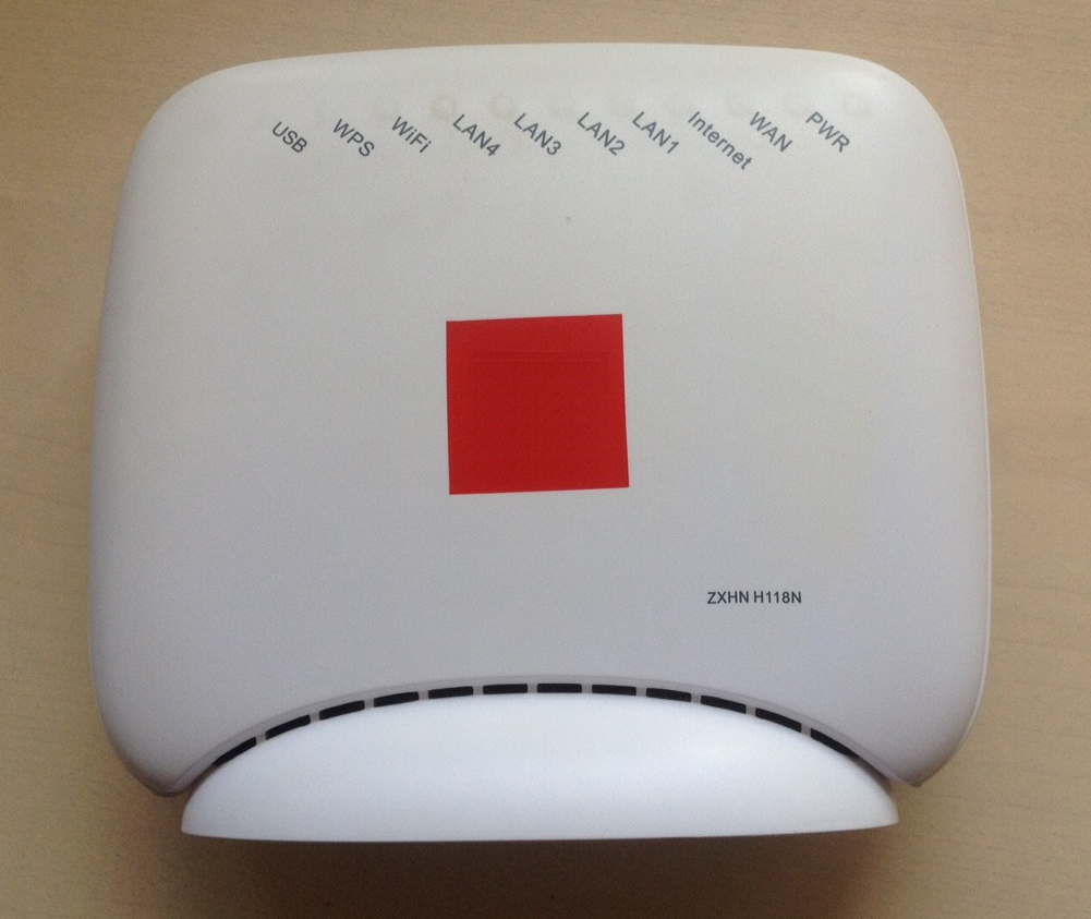 Detailed instructions on how to properly configure the router ZTE